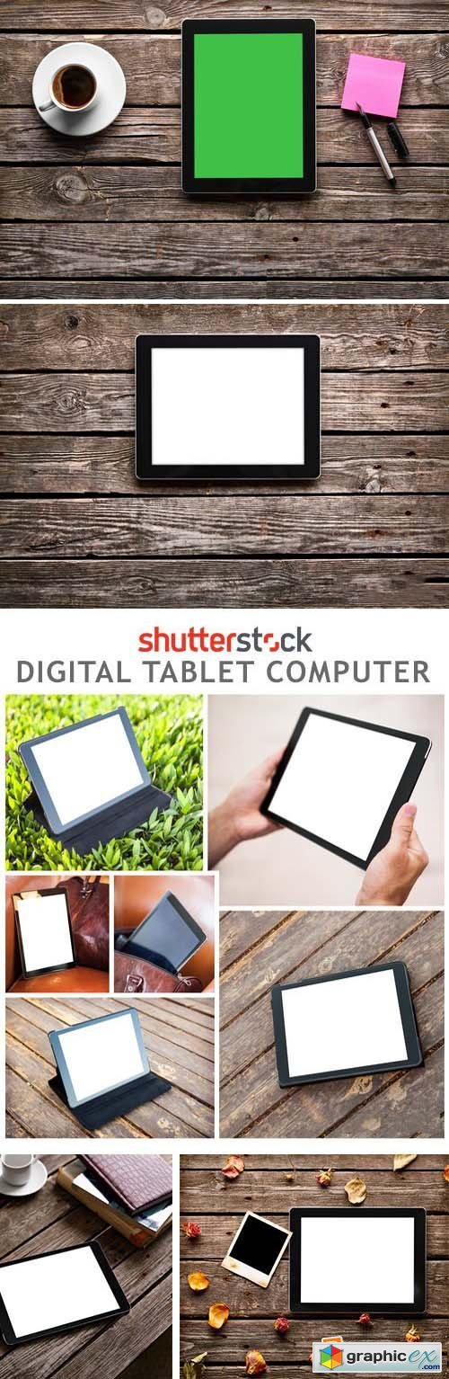 Digital Tablet Computer - 25xJPG