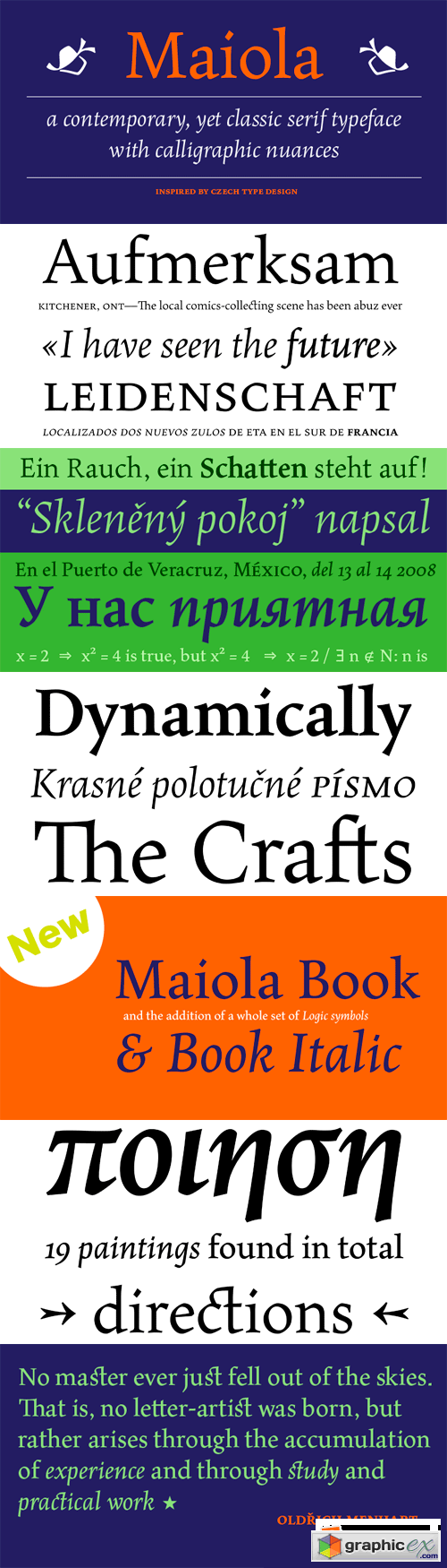 Maiola Font Family - 6 Fonts for $594