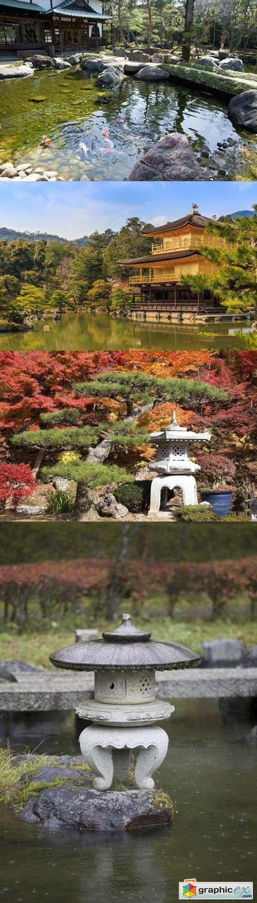 Stock Photos - Japan Garden