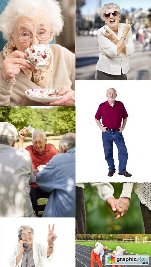 Stock Photos - Old People