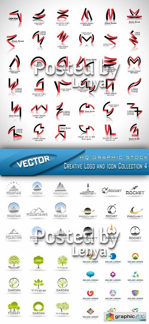 Creative Logo and Icon Collection 4