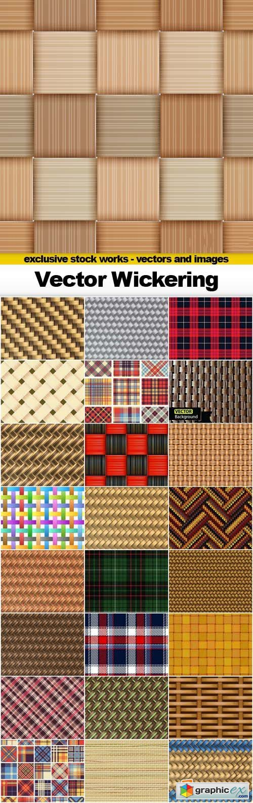 Vector Wickering - 25x EPS