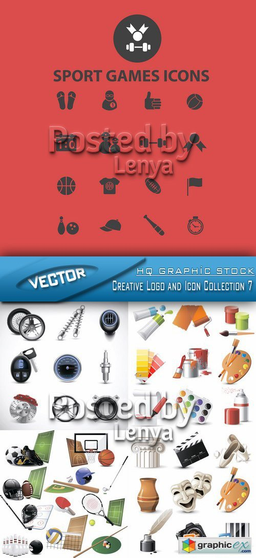 Creative Logo and Icon Collection 7