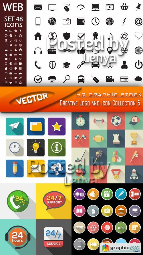 Creative Logo and Icon Collection 5