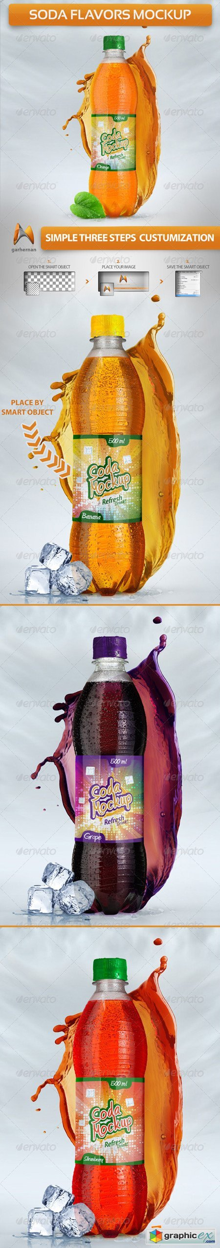 Soda Flavors Mock-Up 5125032
