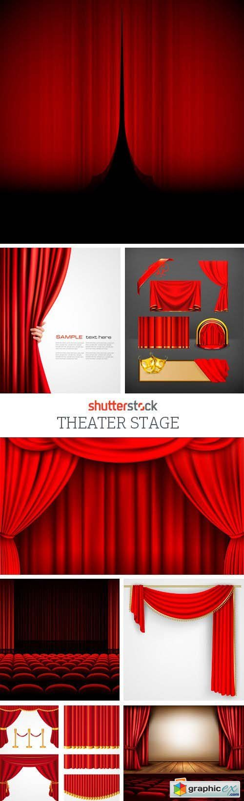 Amazing SS - Theater Stage, 25xEPS