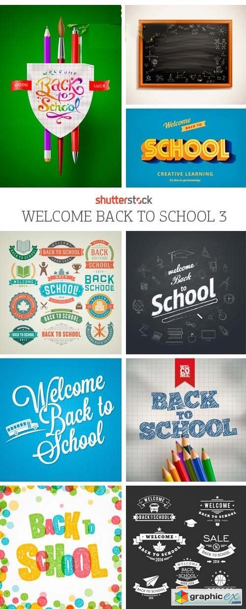 Amazing SS - Welcome Back to School 3, 25xEPS
