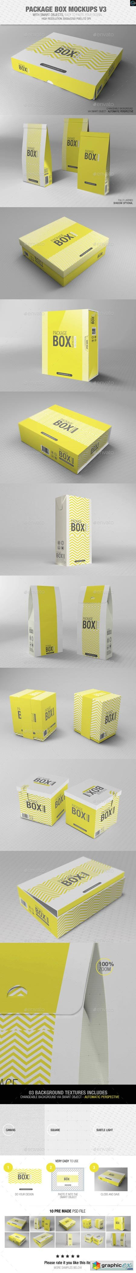 Package Box Mockups Vol3 8797989