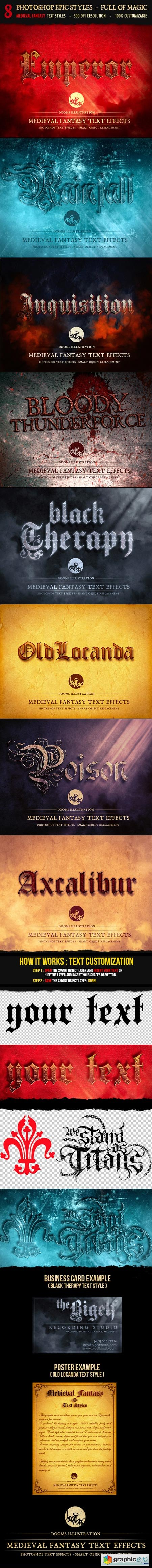Medieval Fantasy Text Effects 8641334