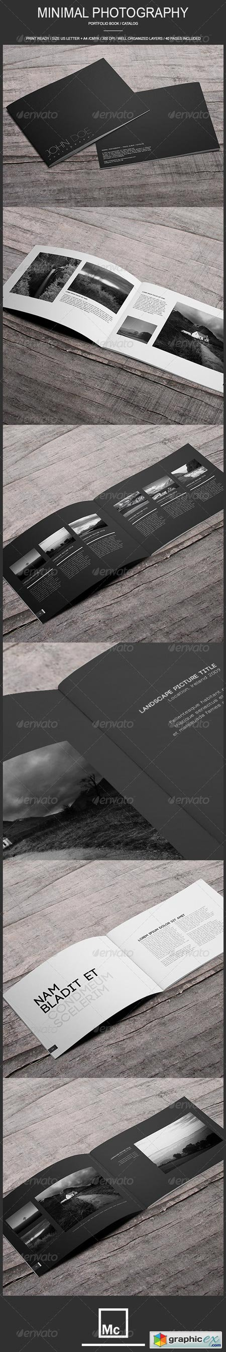 Minimal Photography - Portfolio Book Catalog 6857373