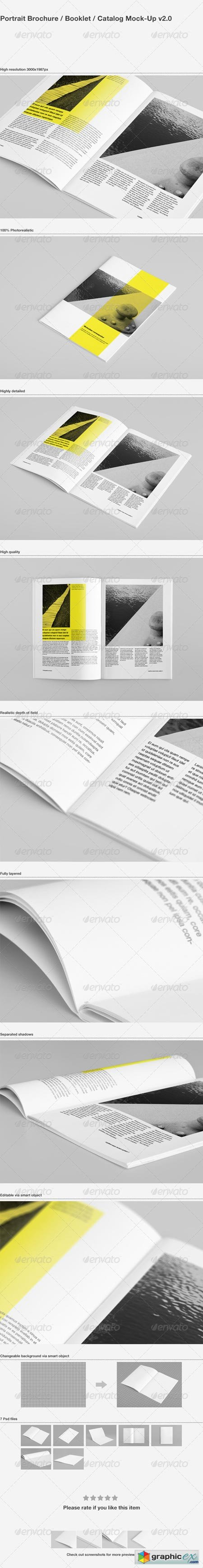 Brochure Booklet Catalog Mock-Up 2616490