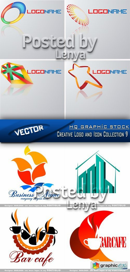 Creative Logo and Icon Collection 9