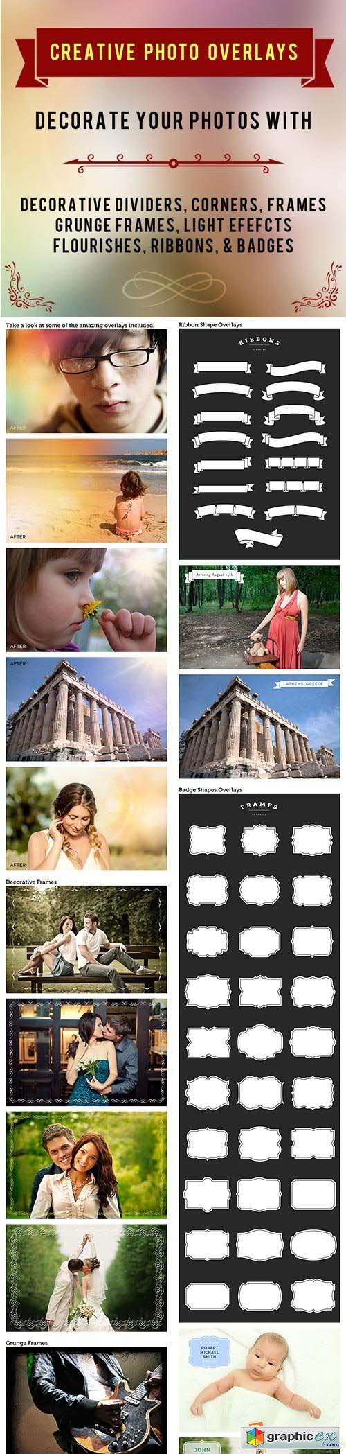 250+ Creative Photo Overlays to Enhance Your Images