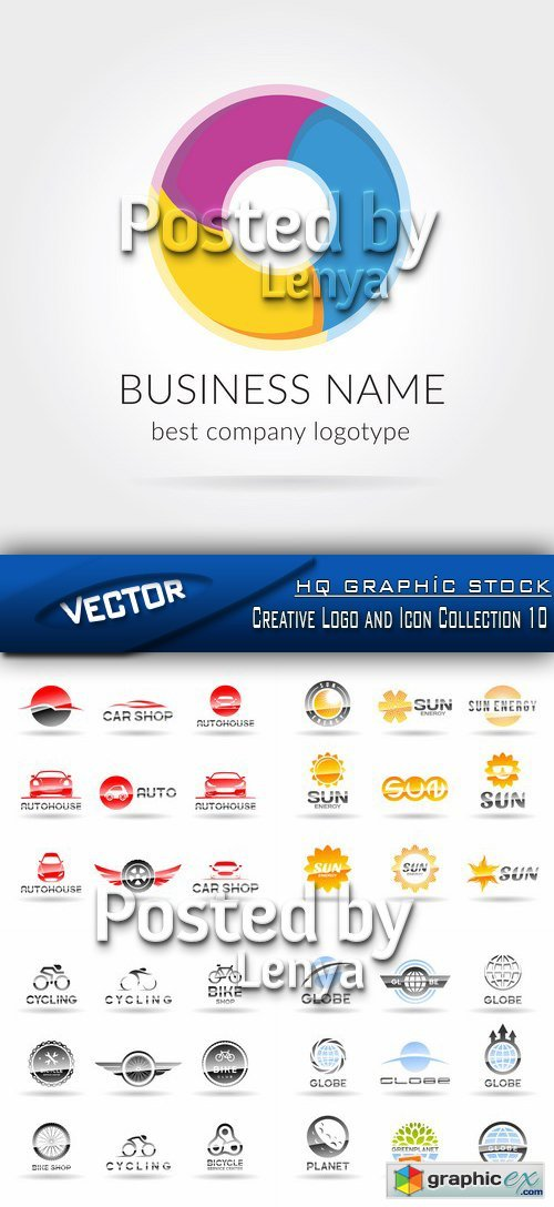 Creative Logo and Icon Collection 10