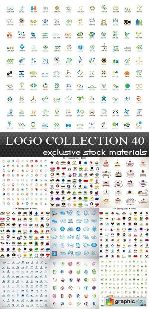 Collection of Logos vol.40, 25xEPS