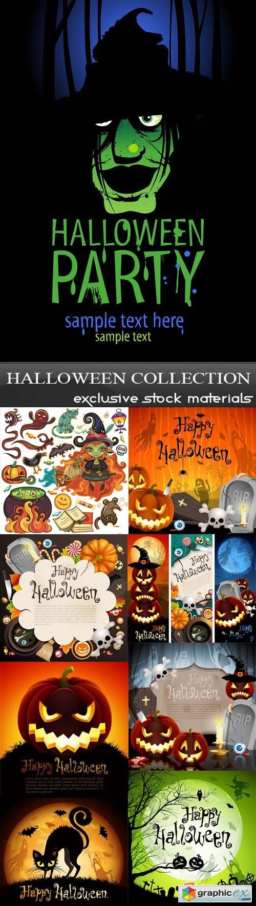 Halloween Collection, 25xEPS