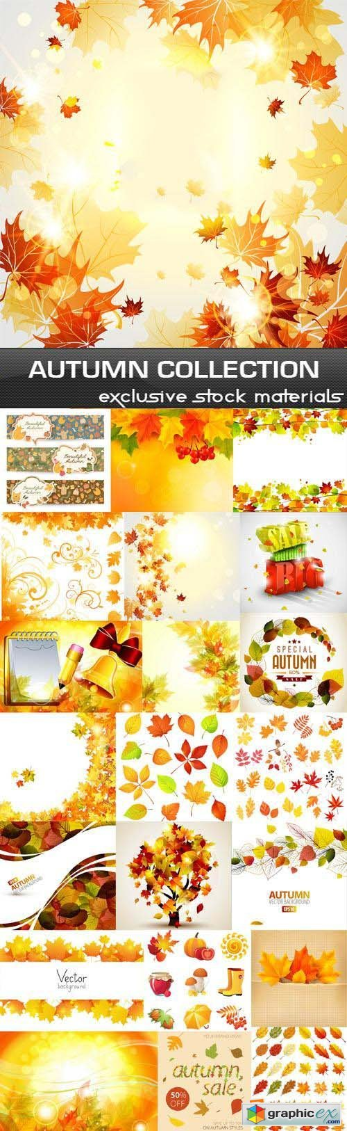 Autumn Collection 25xEPS