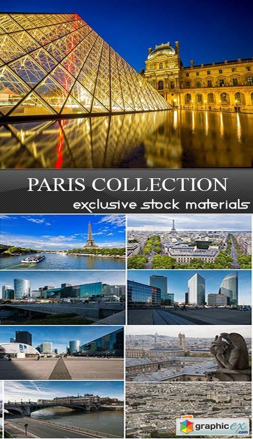 Paris Collection, 25xUHQ JPEG