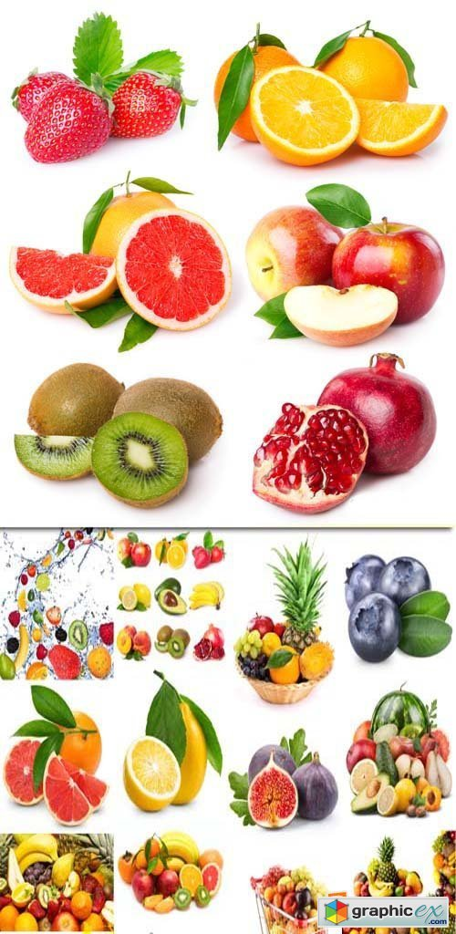 Fresh fruits collection, 25xJPGs