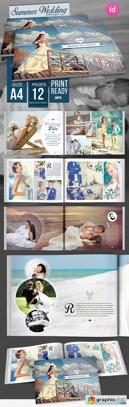 Summer Wedding Photo Album 8334964
