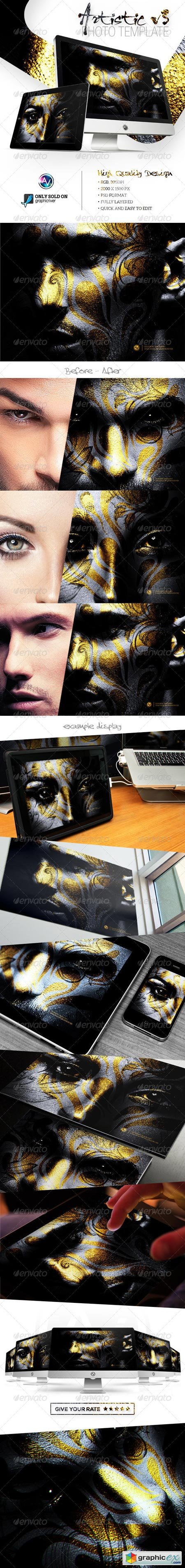 Artistic Photo Template V3 8741394