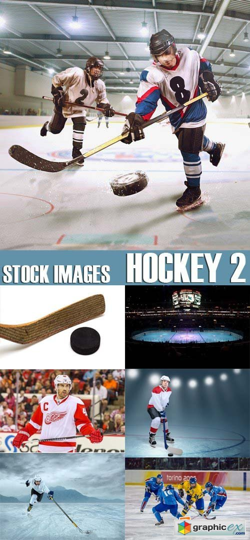 Stock Photos - Hockey 2, 25xJPG
