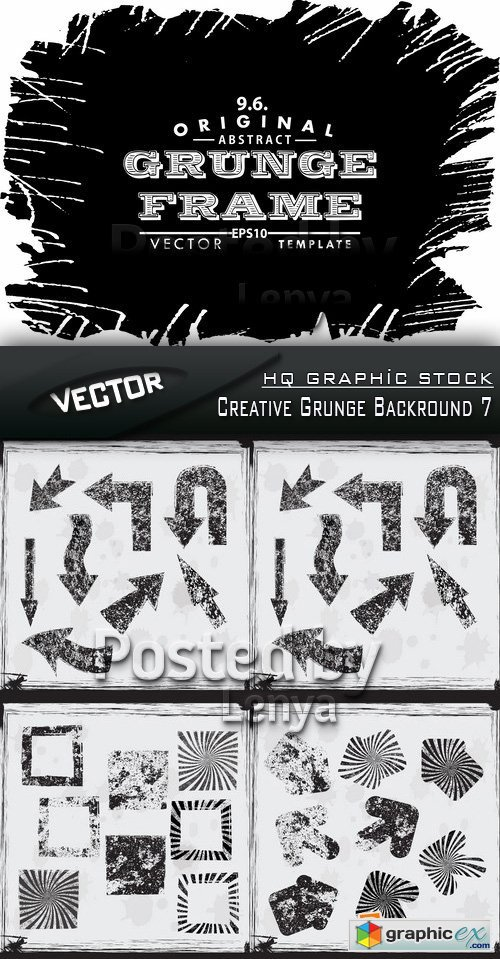 Stock Vector - Creative Grunge Backround 7