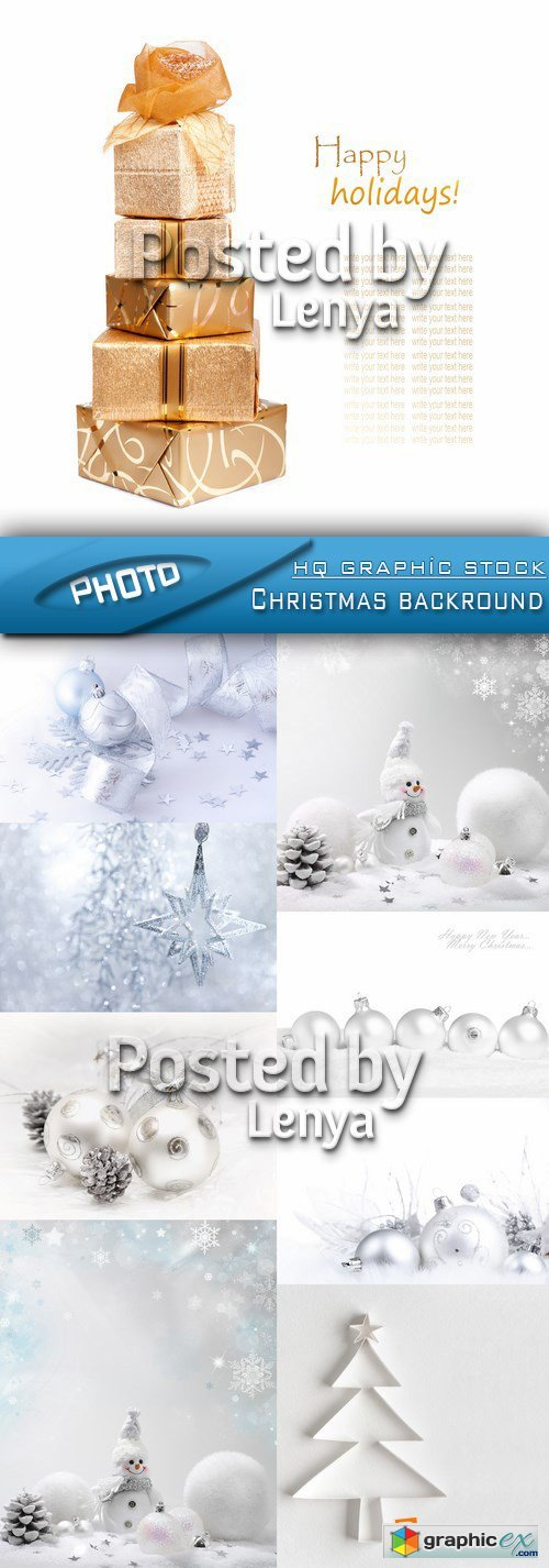 Stock Photo - Christmas backround