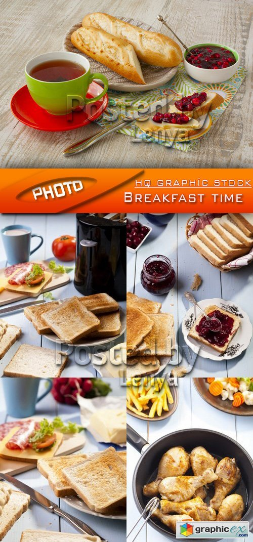 Stock Photo - Breakfast time 01