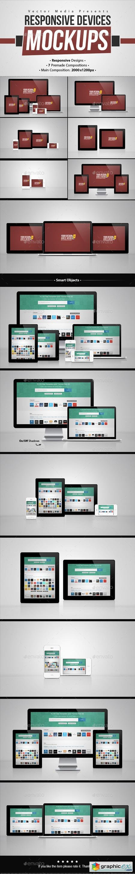 Responsive Devices - Mock-ups 8922730