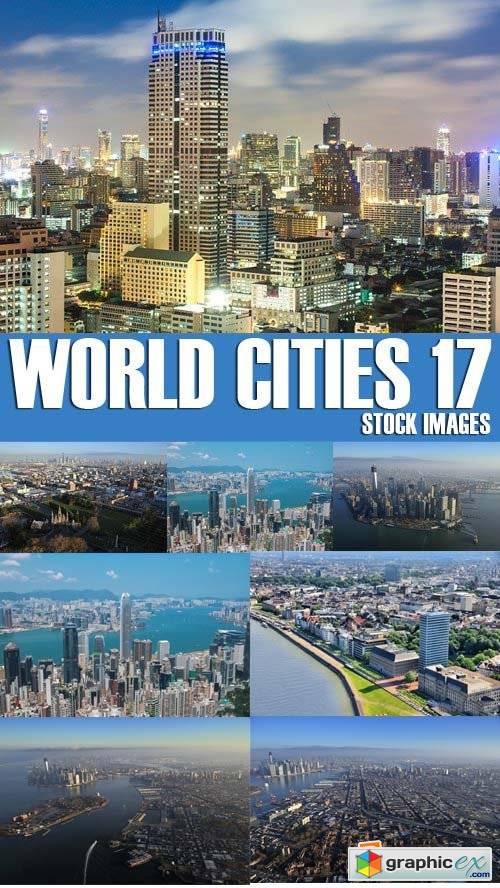 Stock Photos - World Cities 17, 25xJPG