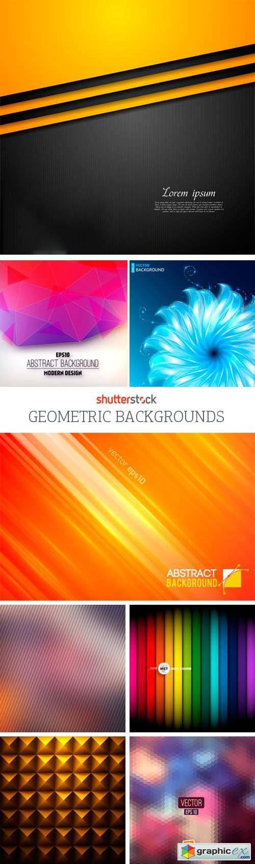 Amazing SS - Geometric Backgrounds, 25xEPS