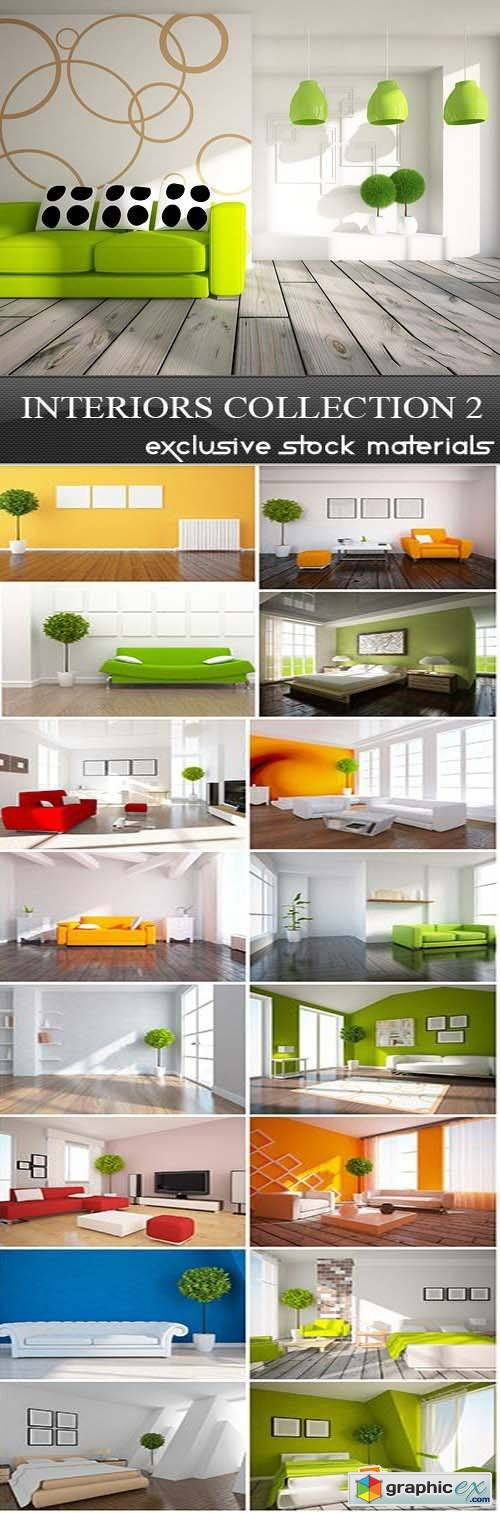 Interiors Collection 2, 25xUHQ JPEG