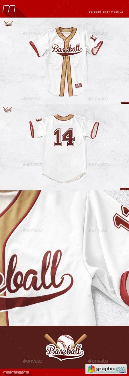 Baseball Jersey Mock-Up 8980592
