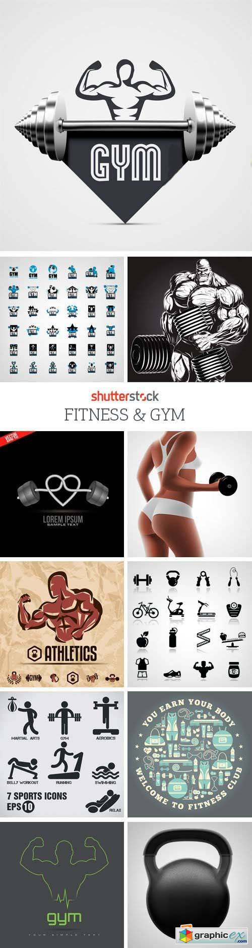 Amazing SS - Fitness & Gym, 25xEPS