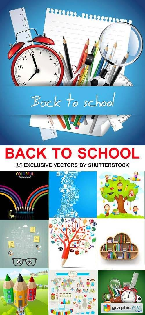 Back to School Vectors 25xEPS