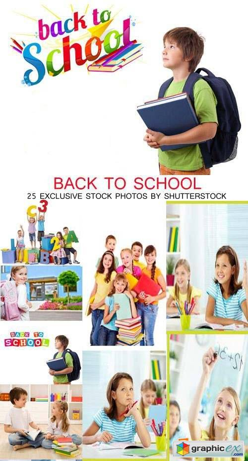 Back to School Kids 25xJPG