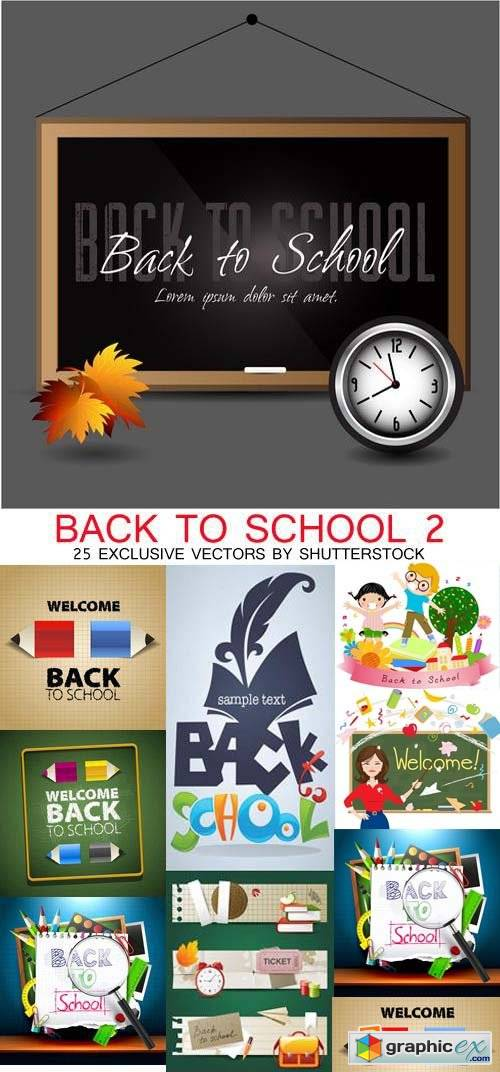 Back to School Exclusive 22xEPS, 3xJPG