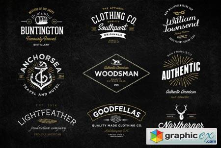Vintage Logo Bundle And Extras 29087 187 Free Download