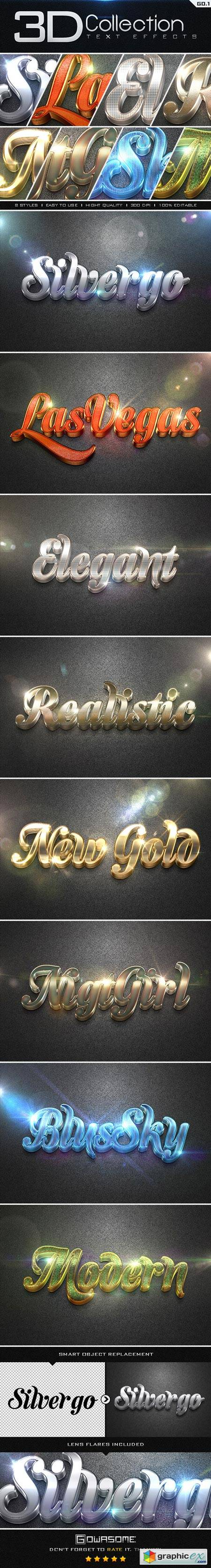 3D Collection Text Effects GO.1 8842156