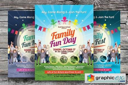 Family Fun Day Flyers 86107