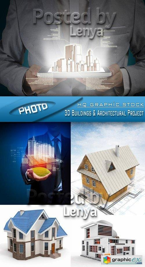 Stock Photo - 3D Buildings & Architectural Project