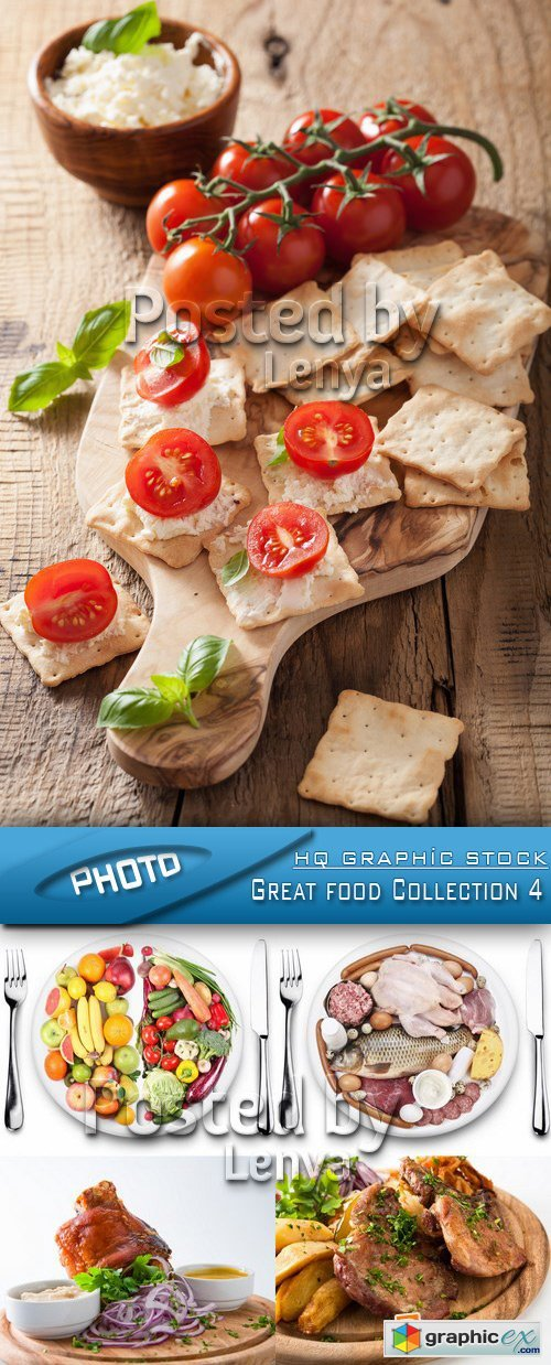 Stock Photo - Great food Collection 4