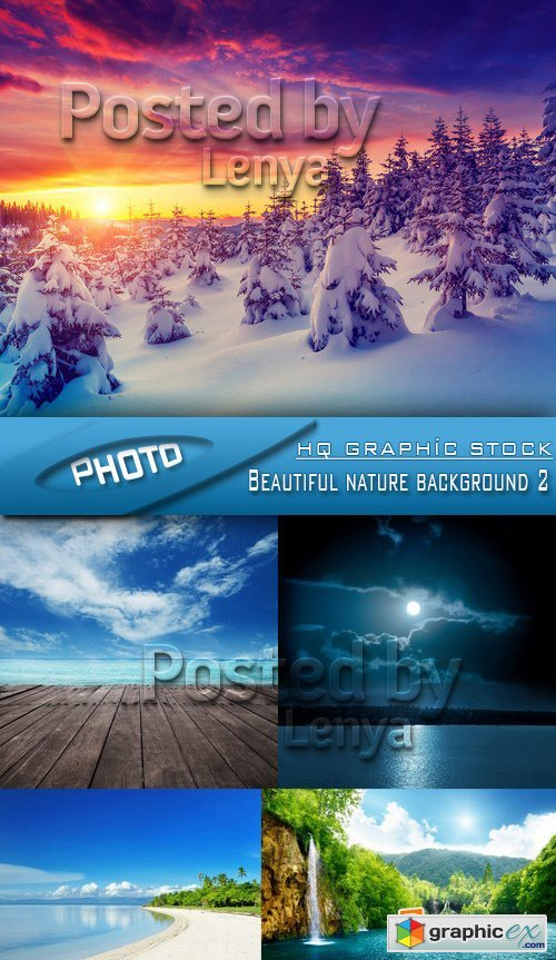 Stock Photo - Beautiful nature background 2