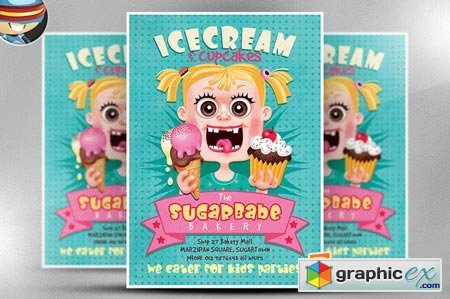 ice cream flyer template free aildoc productoseb co