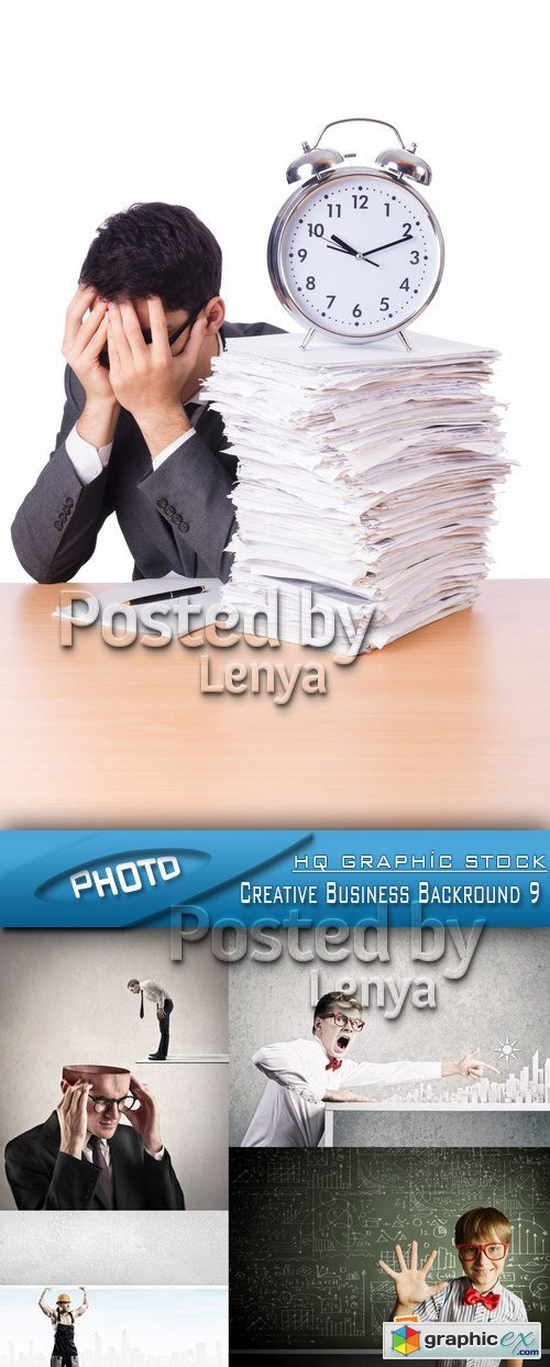 Stock Photo - Creative Business Backround 9