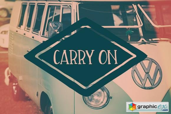 Carry On Font