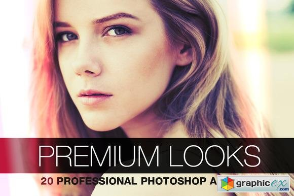 Premium Looks - 20 Photoshop Actions 28185