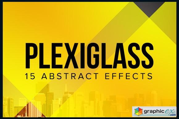 Plexiglass - 15 Abstract Effects  9806