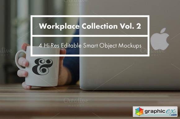 Workplace Collection Mockups Vol. 2  98824